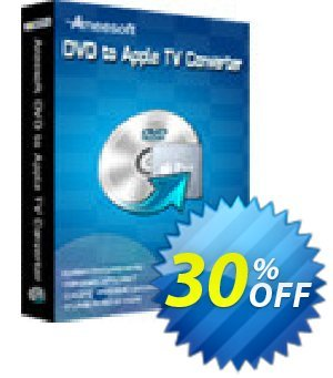 Aneesoft DVD to Apple TV Converter Coupon, discount Aneesoft DVD to Apple TV Converter exclusive promotions code 2019. Promotion: exclusive promotions code of Aneesoft DVD to Apple TV Converter 2019