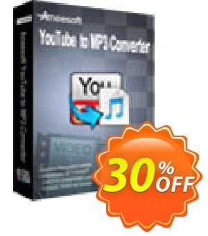 Aneesoft YouTube to MP3 Converter Coupon, discount Aneesoft YouTube to MP3 Converter stirring promotions code 2021. Promotion: stirring promotions code of Aneesoft YouTube to MP3 Converter 2021