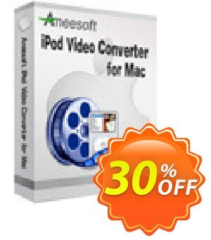 Aneesoft iPod Video Converter for Mac Coupon discount Aneesoft iPod Video Converter for Mac special sales code 2021
