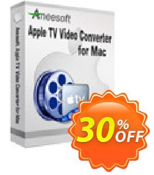 Aneesoft Apple TV Video Converter for Mac割引コード・Aneesoft Apple TV Video Converter for Mac exclusive deals code 2020 キャンペーン:exclusive deals code of Aneesoft Apple TV Video Converter for Mac 2020