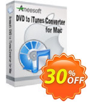 Aneesoft DVD to iTunes Converter for Mac Coupon, discount Aneesoft DVD to iTunes Converter for Mac stunning discounts code 2021. Promotion: stunning discounts code of Aneesoft DVD to iTunes Converter for Mac 2021