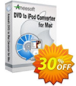 Aneesoft DVD to iPod Converter for Mac Coupon, discount Aneesoft DVD to iPod Converter for Mac staggering promotions code 2021. Promotion: staggering promotions code of Aneesoft DVD to iPod Converter for Mac 2021