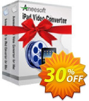Aneesoft iPad Converter Suite for Mac 프로모션 코드 Aneesoft iPad Converter Suite for Mac formidable discount code 2020 프로모션: formidable discount code of Aneesoft iPad Converter Suite for Mac 2020