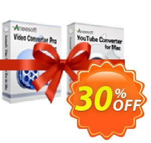 Aneesoft Video Converter Pro and YouTube Converter Bundle for Mac 優惠券,折扣碼 Aneesoft Video Converter Pro and YouTube Converter Bundle for Mac best offer code 2020,促銷代碼: best offer code of Aneesoft Video Converter Pro and YouTube Converter Bundle for Mac 2020