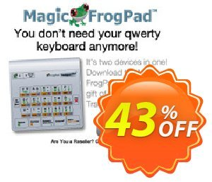 Magic FrogPad discount coupon Linked In - best deals code of Magic FrogPad 2021