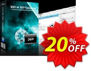 mediAvatar DVD to 3GP Converter Coupon, discount mediAvatar DVD to 3GP Converter awesome discounts code 2020. Promotion: awesome discounts code of mediAvatar DVD to 3GP Converter 2020