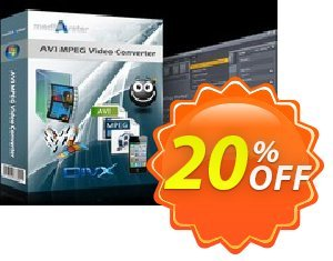 mediAvatar AVI MPEG Video Converter 優惠券,折扣碼 mediAvatar AVI MPEG Video Converter amazing sales code 2020,促銷代碼: amazing sales code of mediAvatar AVI MPEG Video Converter 2020