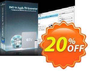 mediAvatar DVD to Apple TV Converter 優惠券,折扣碼 mediAvatar DVD to Apple TV Converter stunning deals code 2020,促銷代碼: stunning deals code of mediAvatar DVD to Apple TV Converter 2020