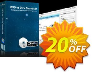 mediAvatar DVD to DivX Converter Coupon discount mediAvatar DVD to DivX Converter stirring promo code 2020. Promotion: stirring promo code of mediAvatar DVD to DivX Converter 2020