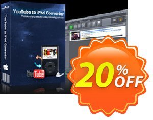 mediAvatar YouTube to iPod Converter for Mac 프로모션 코드 mediAvatar YouTube to iPod Converter for Mac stunning discount code 2020 프로모션: stunning discount code of mediAvatar YouTube to iPod Converter for Mac 2020