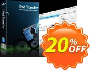 mediAvatar iPod Transfer Coupon discount mediAvatar iPod Transfer dreaded discount code 2019. Promotion: dreaded discount code of mediAvatar iPod Transfer 2019