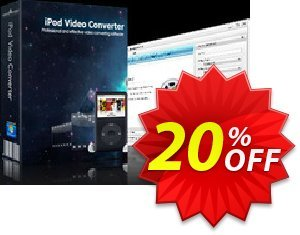 mediAvatar iPod Video Converter Coupon discount mediAvatar iPod Video Converter excellent promo code 2020. Promotion: excellent promo code of mediAvatar iPod Video Converter 2020