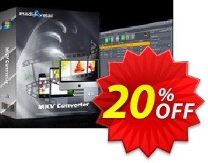 mediAvatar MKV Converter Coupon, discount mediAvatar MKV Converter wondrous promotions code 2021. Promotion: wondrous promotions code of mediAvatar MKV Converter 2021