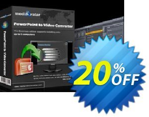 mediAvatar PowerPoint to Video Converter Personal 優惠券,折扣碼 mediAvatar PowerPoint to Video Converter Personal excellent discount code 2019,促銷代碼: excellent discount code of mediAvatar PowerPoint to Video Converter Personal 2019