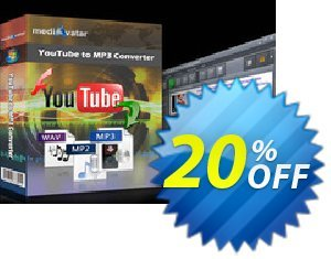 mediAvatar YouTube to MP3 Converter Coupon discount mediAvatar YouTube to MP3 Converter super offer code 2019. Promotion: super offer code of mediAvatar YouTube to MP3 Converter 2019