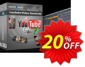 mediAvatar YouTube Video Converter Coupon discount mediAvatar YouTube Video Converter big promo code 2019 - big promo code of mediAvatar YouTube Video Converter 2019