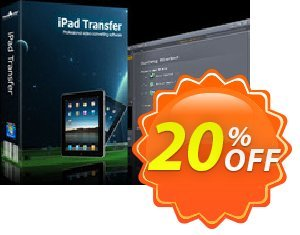 mediAvatar iPad Transfer Coupon, discount mediAvatar iPad Transfer impressive deals code 2020. Promotion: impressive deals code of mediAvatar iPad Transfer 2020