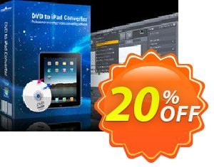 mediAvatar DVD to iPad Converter Coupon discount mediAvatar DVD to iPad Converter fearsome discount code 2019. Promotion: fearsome discount code of mediAvatar DVD to iPad Converter 2019