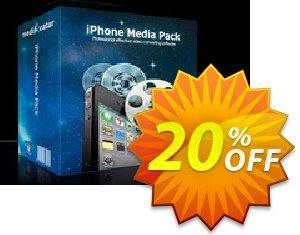 mediAvatar iPhone Media Pack割引コード・mediAvatar iPhone Media Pack amazing deals code 2020 キャンペーン:amazing deals code of mediAvatar iPhone Media Pack 2020
