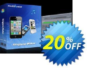 mediAvatar Ringtone Maker Coupon, discount mediAvatar Ringtone Maker impressive promo code 2021. Promotion: impressive promo code of mediAvatar Ringtone Maker 2021