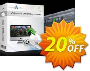 mediAvatar Video to DVD Converter for Mac Coupon discount mediAvatar Video to DVD Converter for Mac staggering offer code 2019 - staggering offer code of mediAvatar Video to DVD Converter for Mac 2019