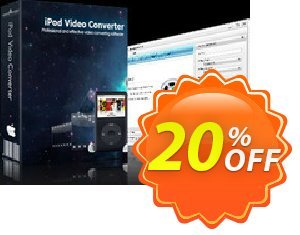 mediAvatar iPod Video Converter for Mac Coupon, discount mediAvatar iPod Video Converter for Mac awful sales code 2020. Promotion: awful sales code of mediAvatar iPod Video Converter for Mac 2020