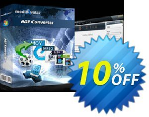 mediAvatar ASF Converter Coupon discount mediAvatar ASF Converter formidable offer code 2020. Promotion: formidable offer code of mediAvatar ASF Converter 2020