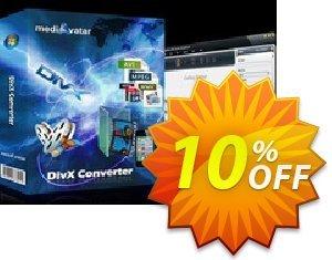 mediAvatar DivX Converter Coupon, discount mediAvatar DivX Converter excellent discounts code 2021. Promotion: excellent discounts code of mediAvatar DivX Converter 2021