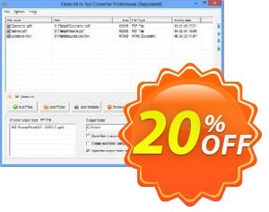 Okdo All to Ppt Converter Professional Coupon, discount Okdo All to Ppt Converter Professional special offer code 2020. Promotion: special offer code of Okdo All to Ppt Converter Professional 2020