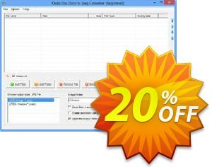 Okdo Doc Docx to Jpeg Converter Coupon, discount Okdo Doc Docx to Jpeg Converter wondrous discount code 2020. Promotion: wondrous discount code of Okdo Doc Docx to Jpeg Converter 2020
