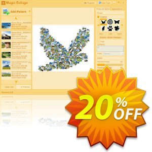 Magic Collage 프로모션 코드 20% Off Discount 프로모션: marvelous offer code of Magic Collage 2020