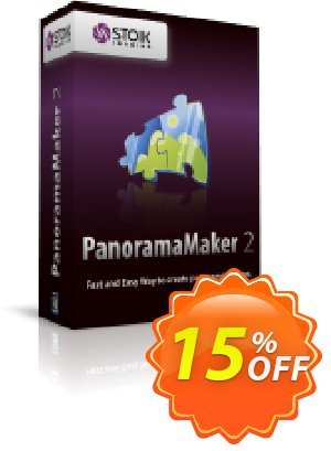 STOIK PanoramaMaker (Win) Coupon, discount STOIK Promo. Promotion: staggering promo code of STOIK PanoramaMaker (Win) 2020