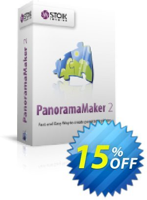 STOIK PanoramaMaker (Mac) Coupon, discount STOIK Promo. Promotion: dreaded discount code of STOIK PanoramaMaker (Mac) 2020