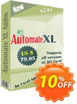 TheSkySoft Automate XL Coupon, discount 10%Discount. Promotion: stirring promotions code of Automate XL 2021