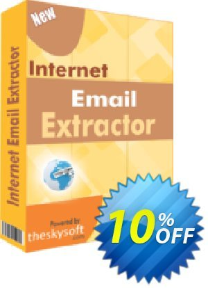 TheSkySoft Internet Email Extractor Coupon, discount 10%Discount. Promotion: staggering promotions code of Internet Email Extractor 2021