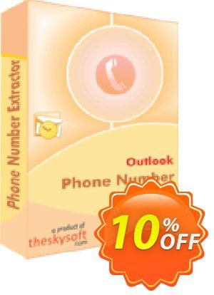 TheSkySoft Outlook Phone Number Extractor Coupon, discount 10%Discount. Promotion: impressive offer code of Outlook Phone Number Extractor 2021