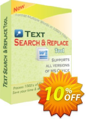 TheSkySoft Text Search and Replace Tool Coupon, discount 10%Discount. Promotion: dreaded discounts code of Text Search and Replace Tool 2021