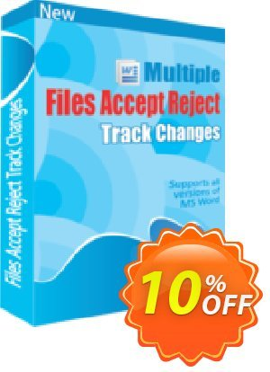 TheSkySoft Multiple Files Accept & Reject Track Changes Coupon discount 10%Discount. Promotion: best promotions code of Multiple Files Accept & Reject Track Changes 2020