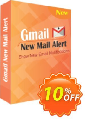 TheSkySoft Gmail New Mail Alert Coupon, discount 10%Discount. Promotion: wonderful deals code of Gmail New Mail Alert 2021