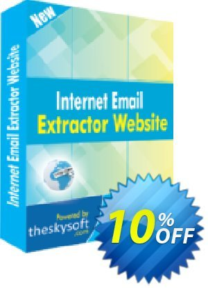 TheSkySoft Internet Email Extractor Website Coupon, discount 10%Discount. Promotion: staggering promo code of Internet Email Extractor Website 2020