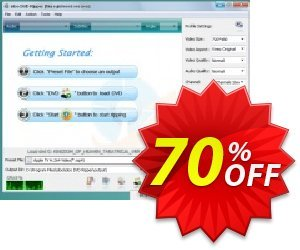 idoo DVD Ripper 優惠券,折扣碼 70% off (Ann Video Converter +idoo DVD Ripper Pro),促銷代碼: wondrous sales code of idoo DVD Ripper 2021