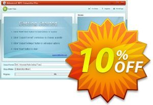 Advanced MP3 Converter Pro Coupon, discount Advanced MP3 Converter Pro wonderful sales code 2019. Promotion: wonderful sales code of Advanced MP3 Converter Pro 2019