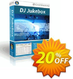 DJ Jukebox Coupon, discount DJ Jukebox awful discount code 2020. Promotion: awful discount code of DJ Jukebox 2020