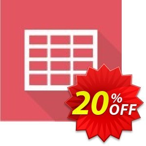 Virto Ajax Data Grid Web Part for SP2007 Coupon, discount Virto Ajax Data Grid Web Part for SP2007 marvelous deals code 2020. Promotion: marvelous deals code of Virto Ajax Data Grid Web Part for SP2007 2020