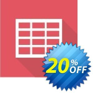Virto Ajax Data Grid Web Part for SP2010 Coupon, discount Virto Ajax Data Grid Web Part for SP2010 imposing promo code 2020. Promotion: imposing promo code of Virto Ajax Data Grid Web Part for SP2010 2020