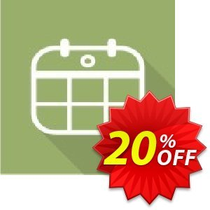 Migration of Mini Calendar from SP2010 to SP2013 Coupon, discount Migration of Mini Calendar from SP2010 to SP2013 excellent discount code 2020. Promotion: excellent discount code of Migration of Mini Calendar from SP2010 to SP2013 2020