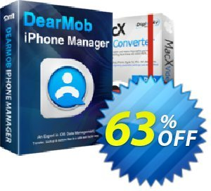 DearMob iPhone Manager (Family License 5 Macs) discount coupon DearMob iPhone Manager - Family License 3 - 5 Macs Wonderful promo code 2020 - Wonderful promo code of DearMob iPhone Manager - Family License 3 - 5 Macs 2020