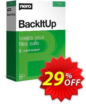 Nero BackItUp 2020 Coupon, discount Nero BackItUp 2021 hottest deals code 2021. Promotion: hottest deals code of Nero BackItUp 2021 2021