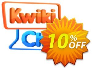KwikiChat Coupon, discount KwikiChat awful discount code 2021. Promotion: awful discount code of KwikiChat 2021