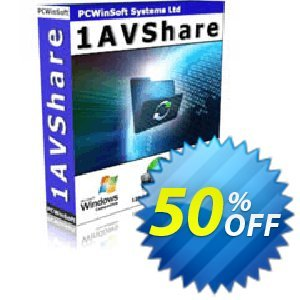 1AVShare 優惠券,折扣碼 GLOBAL50PERCENT,促銷代碼: formidable discounts code of 1AVShare 2019